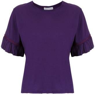 Nk ruffled sleeves blouse