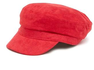 Free Press Faux Suede Newsboy Hat