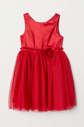 H&M Tulle Dress - Red