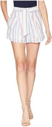 J.o.a. Pleated Shorts w/ Waist Tie Women's Shorts