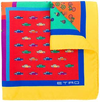 Etro printed foulard