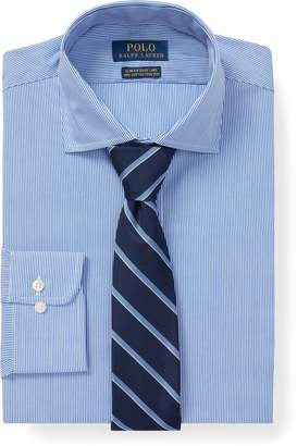 Ralph Lauren Slim Fit Striped Poplin Shirt