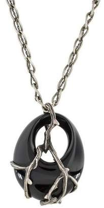 Lalique Ronces Pendant Necklace