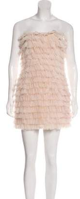 Haute Hippie Tiered Tulle Dress w/ Tags