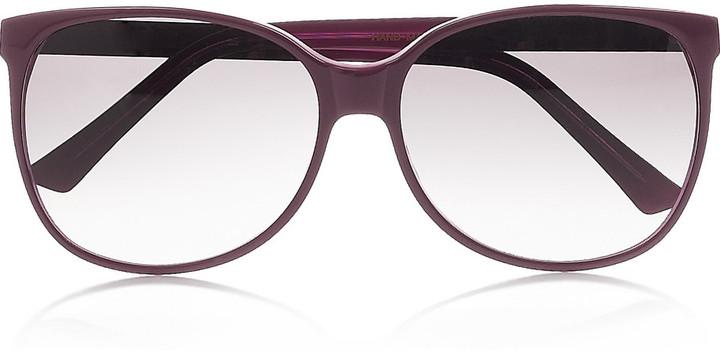 Selima Yasmine square-frame acetate sunglasses