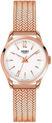 Richmond Henry London Unisex Quartz Watch with Analogue Quartz Stainless Steel HL25M 0022