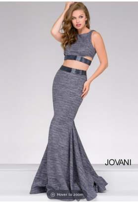 Jovani Glitter Two Piece