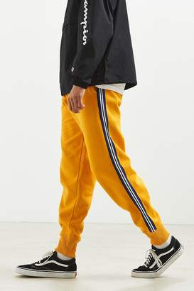 Urban Outfitters Terry Fleece Side Stripe Jogger Pant