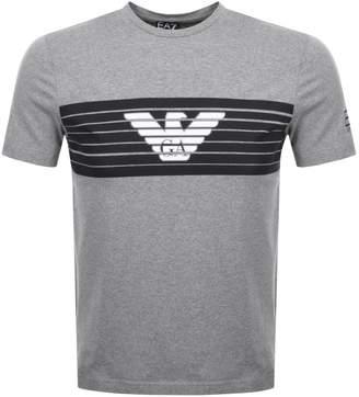 Emporio Armani EA7 Crew Neck T Shirt Grey