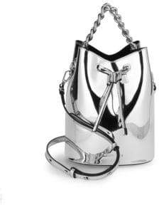 KENDALL + KYLIE Metallic Bucket Bag