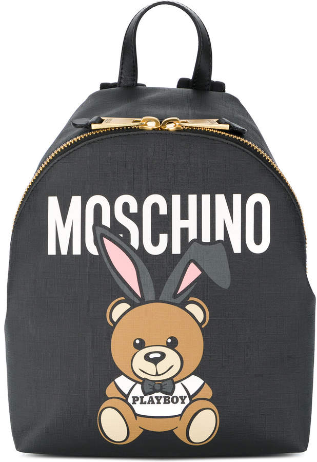 Backpack With Bear