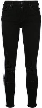Amiri side stripe jeans