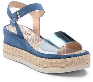 Manas Design Metallic Platform Sandal