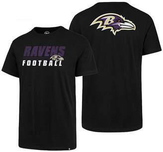 '47 Men's Baltimore Ravens Fade Back Super Rival T-Shirt