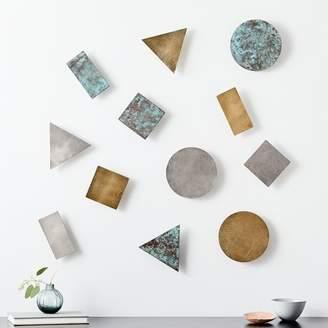 west elm Confetti Wall Art (Set of 4)