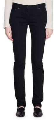 The Row Bonly Low-Rise Skinny Denim Pants