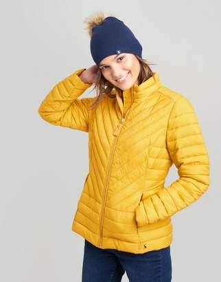 Joules RED Elodie Quilted Jacket Size 12