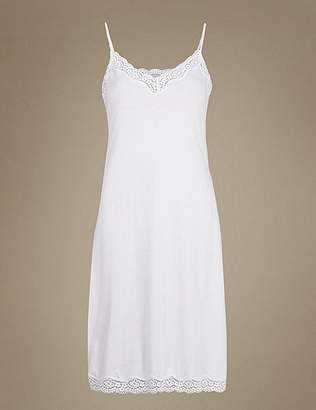 Marks and Spencer Modal Blend Vintage Lace Full Slip with Cool ComfortTM Technology