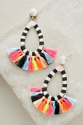 BaubleBar Summer Tassel Drop Earrings $48 thestylecure.com