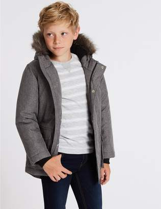 Marks and Spencer Faux Fur Parka (3-16 Years)