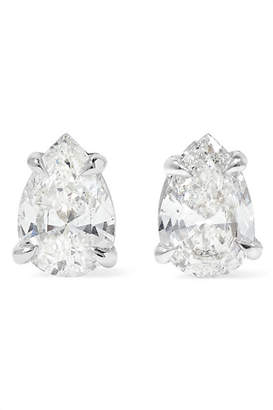 Anita Ko 18-karat White Gold Diamond Earrings