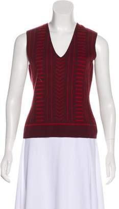 Chanel Cashmere V-Neck Sweater