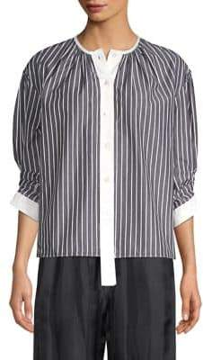 Marc Jacobs Stripe Button Down Top