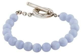 Tiffany & Co. Blue Lace Agate Toggle Bracelet