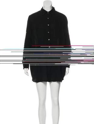 Hatch Oversize Mini Dress