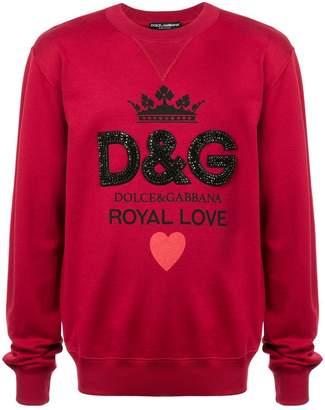 Dolce & Gabbana Royal Love sweatshirt