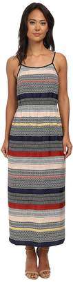 Vince Camuto Morocco Tile Stripe Maxi Dress Women's Dress