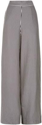 Zimmermann Striped Wide Leg Trousers