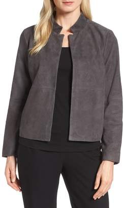 Eileen Fisher Suede Jacket