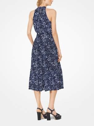 MICHAEL Michael Kors Floral Halter Dress