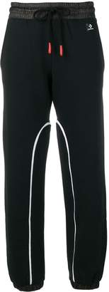 Converse track style jogging trousers