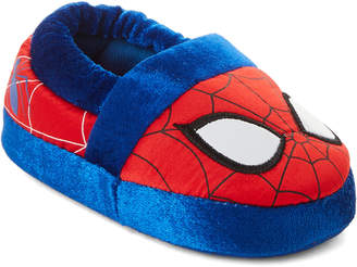 Spiderman Spider Man (Toddler Boys) Red & Navy Character Slippers