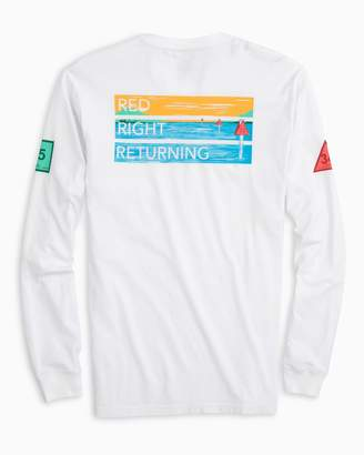 Southern Tide Channel Marker Series Long Sleeve T-Shirt