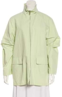 Max Mara Weekend Zip-Up Short Coat