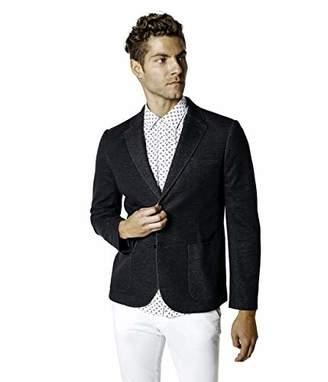 Good Man Brand Men's Slub French Terry Blazer