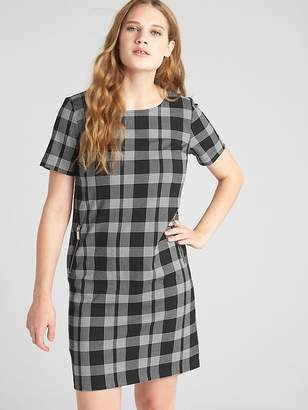 Gap Plaid Shift Dress