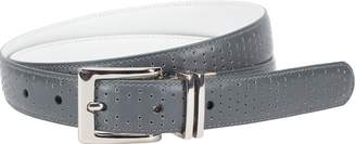 Nike Women' Perforated-to-mooth Reverible Belt