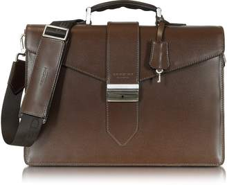 Giorgio Fedon New Class Leather Briefcase w/Shoulder Strap