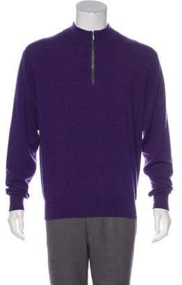 Peter Millar Cashmere Half-Zip Sweater