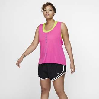 Nike Women's Running Tank (Plus Size Dri-FIT Miler