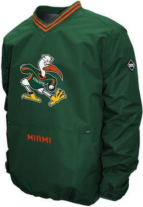 NCAA Men's Franchise Club Miami Hurricanes Postgame Pullover