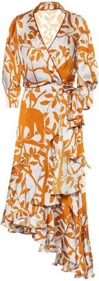 Johanna Ortiz Journal Of A Traveler wrap dress