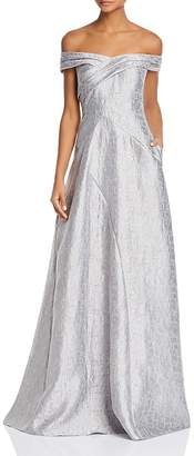 Aidan Mattox Adian Mattox Off-the-Shoulder Gown - 100% Exclusive
