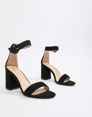 f60ba7078ca9 Raid RAID Genna black block heeled sandals