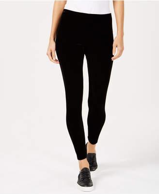 Eileen Fisher Velvet Ankle-Length Leggings, Available in Regular & Petite Sizes