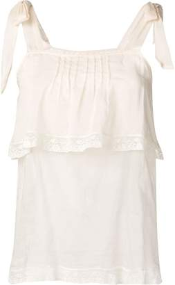 Semi-Couture Semicouture tiered summer top